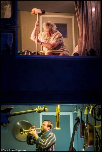 Het Houten Huis - Muziek van beneden - © Saris & den Engelsman